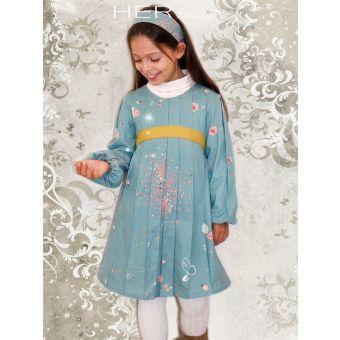 Her Little World - Patron Robe ATTENTIVE fille de 2 à 10 ans