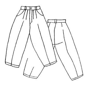 Patron Frégoli 405 - Pantalon à pinces adolescent 12 à 16 ans