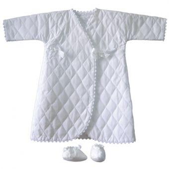 Patron Frégoli 319 - Robe de chambre et chaussons bébé 24 à 36 mois