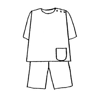 Patron Frégoli 753 - Pyjama homme 46 à 60
