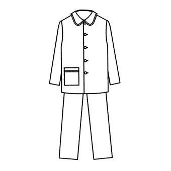 Patron Frégoli 701 - Pyjama classique garçon 4 à 14 ans