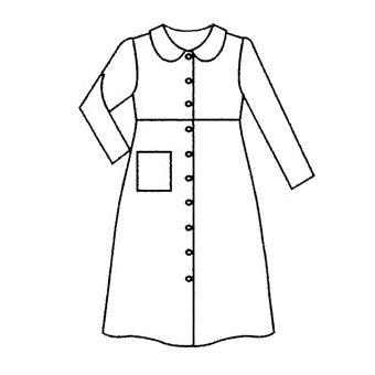 Patron Frégoli 609 - Robe de chambre fille 4 à 14 ans