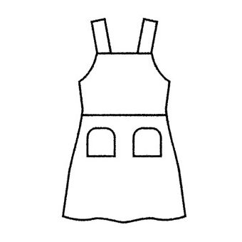 Patron Frégoli 604 - Robe à bretelles fille 2 à 12 ans