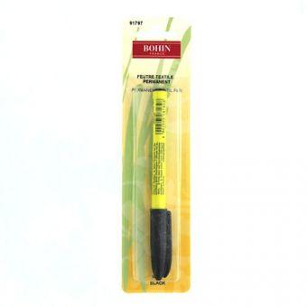 Bohin 91797 - Feutre textile permanent - noir