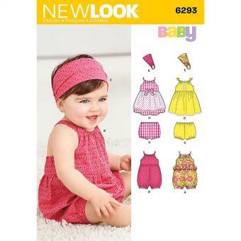 Patron New Look 6293 Ensemble bébé