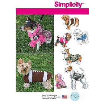 Patron Simplicity 1239 Vêtement chiens