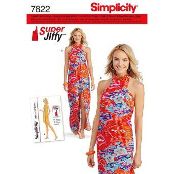 Patron Simplicity 7822 Robe
