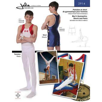 Patron Jalie 2914 Pantalon et short de gymnastique pour hommes