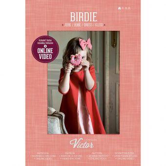 Patron Maison Victor BIRDIE robe fille de 2 à 12 ans