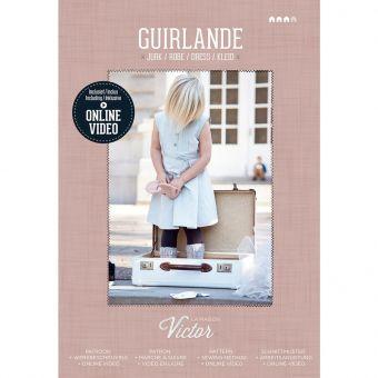 Patron Maison Victor GUIRLANDE - Robe fille de 3 à 10 ans