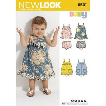 Patron New Look 6501 Robe bébé