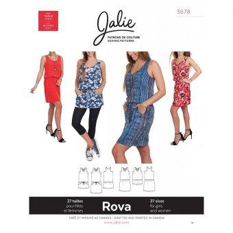 Patron Jalie 3678 Rova - Robe et tunique