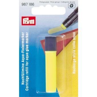 Recharge stylo colle Aqua, jaune