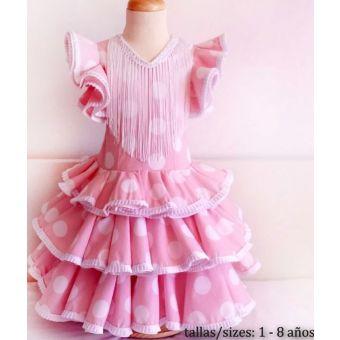 Patron PatronesMujer 9011 Robe longue Flamenco fillettes