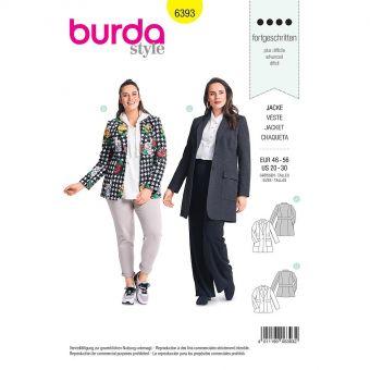 Patron Burda 6393 Veste pour dames