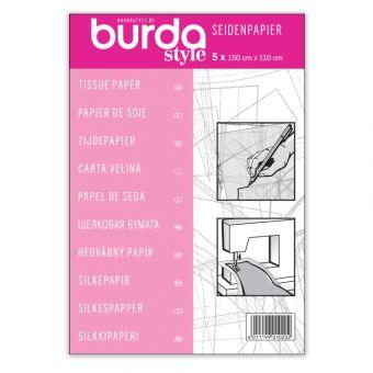 Papier de soie Burda (pour recopier les patrons) - 5 x 150/110 -