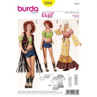 Patron Burda Carnaval 2362 Hippie