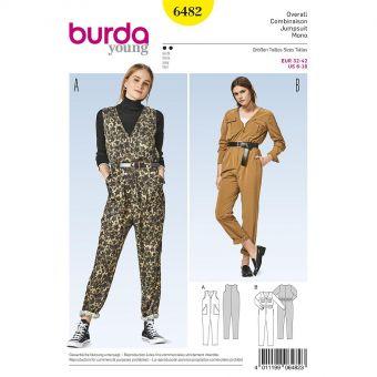 Patron Burda 6482 Combinaison