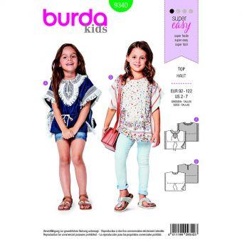Patron Burda  Kids 9340 Haut