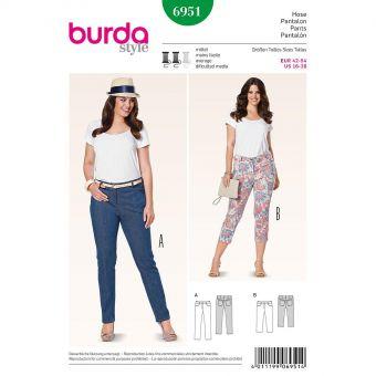 Patron Burda 6951 Pantalon