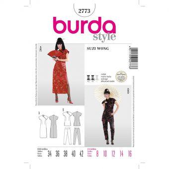 Patron Burda 2773 Carnaval Suzie Wong