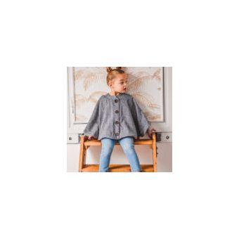 Patron I AM HARRY MINI Cape boutonnée avec poches- fille de 3 à 14 ans