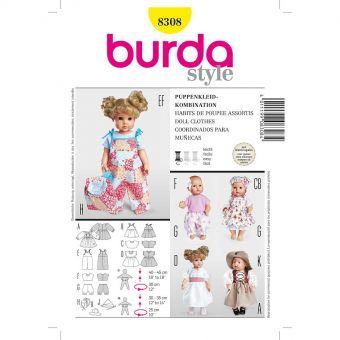 Patron Burda Creative 8308 Coordonnés