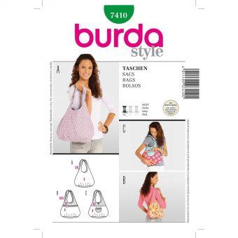 Patron Burda 7410 Sacs