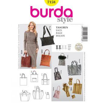 Patron Burda 7158 Sacs