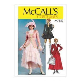 Patron Mc Call's 7853 - Déguisement Femme du 34 au 50
