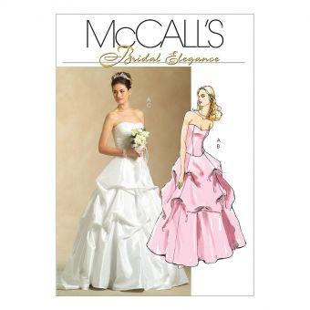 Patron McCall's 5321 Ensembles Jupes et Haut pour mariage