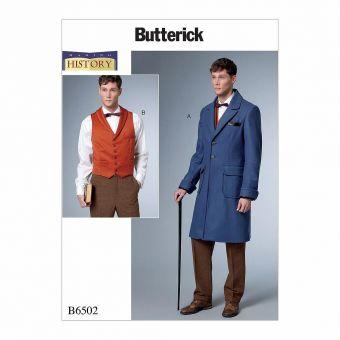 Patron Butterick 6502 Déguisement, costume historique