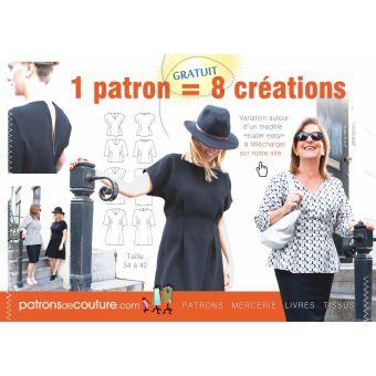 Patron de Couture Robe & Tunique femme